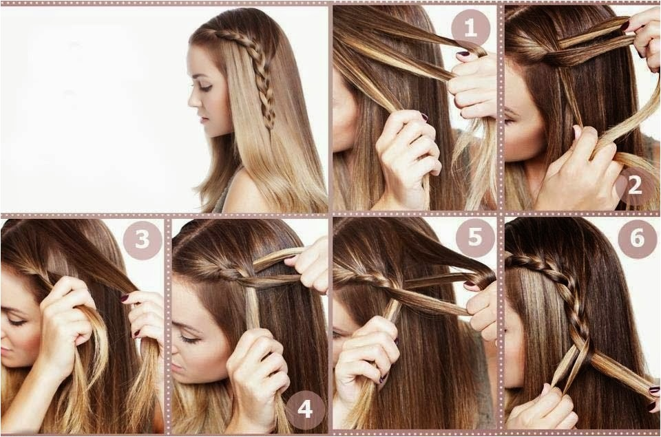steps of making hairstyles