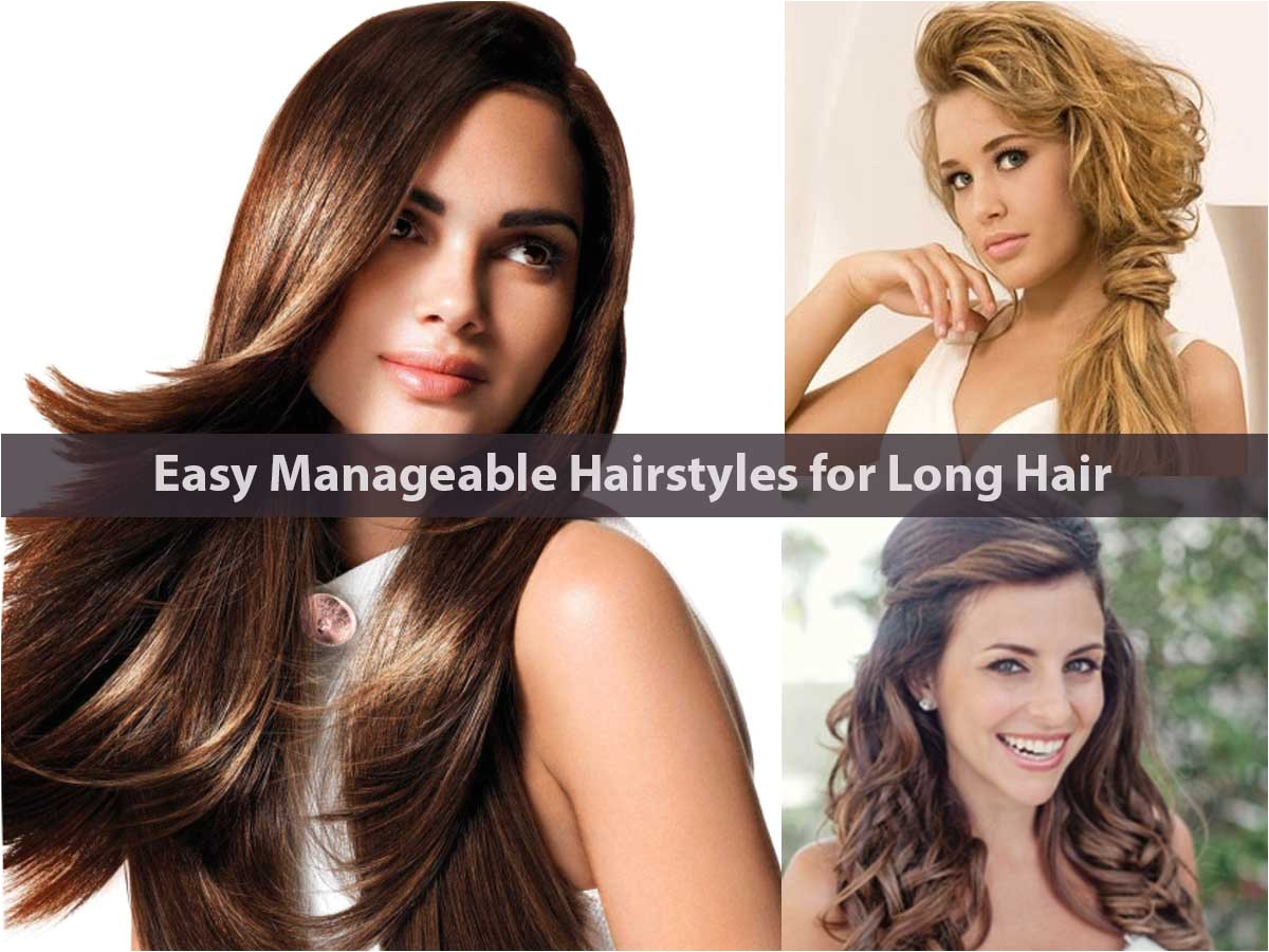 15 easy manageable hairstyles long hair