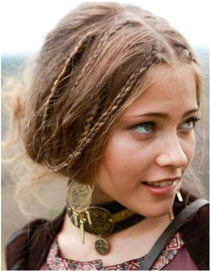 viking celtic me val elven braided hair
