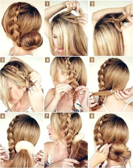 easy n simple hairstyles