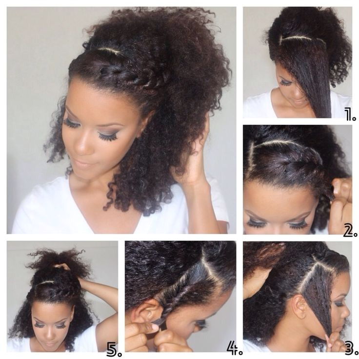 Easy Natural Hairstyles for Black Girls Great Tips for Making Easy Natural Hairstyles for Daily