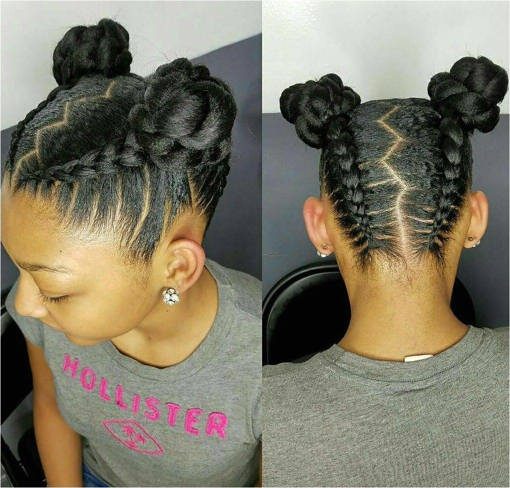 Easy Natural Hairstyles for Teenage Girl 1