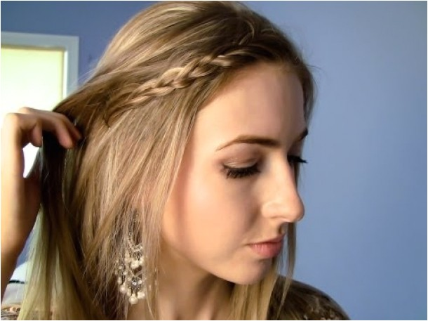 easy open hairstyles for long hair 16