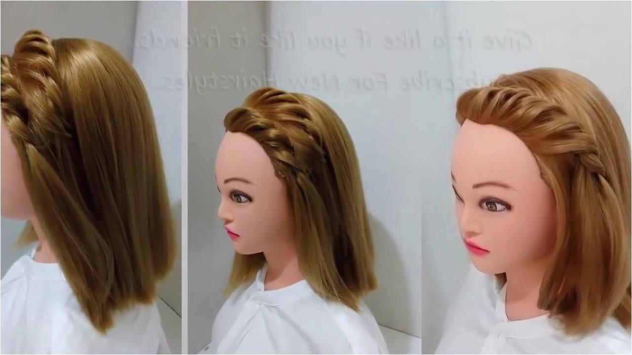 simple hairstyles in open hair