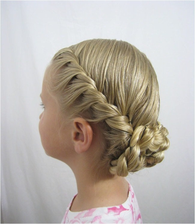 Easy Party Hairstyles for Teenagers Quick Easy Updos for Kids 2018