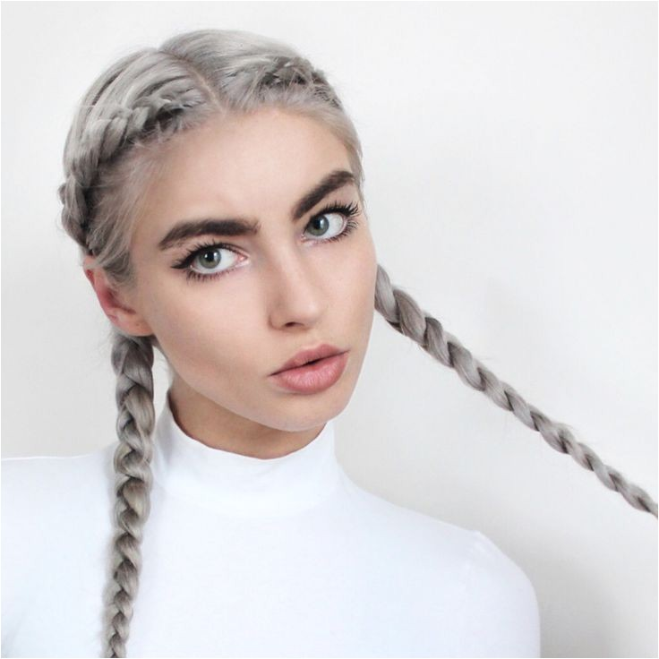 simple hairstyle for pigtail braids hairstyles best ideas about braided pigtails on pinterest pigtail