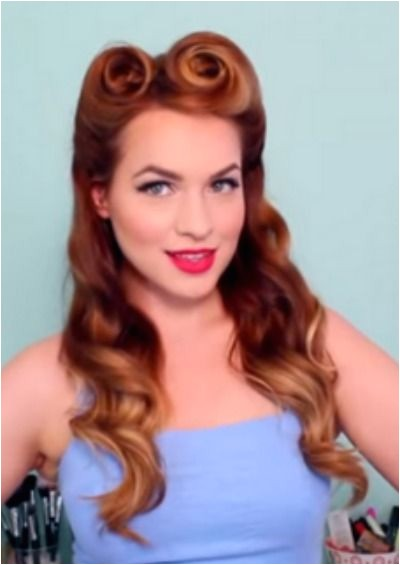 easy 1950s hairstyles for long hairtml