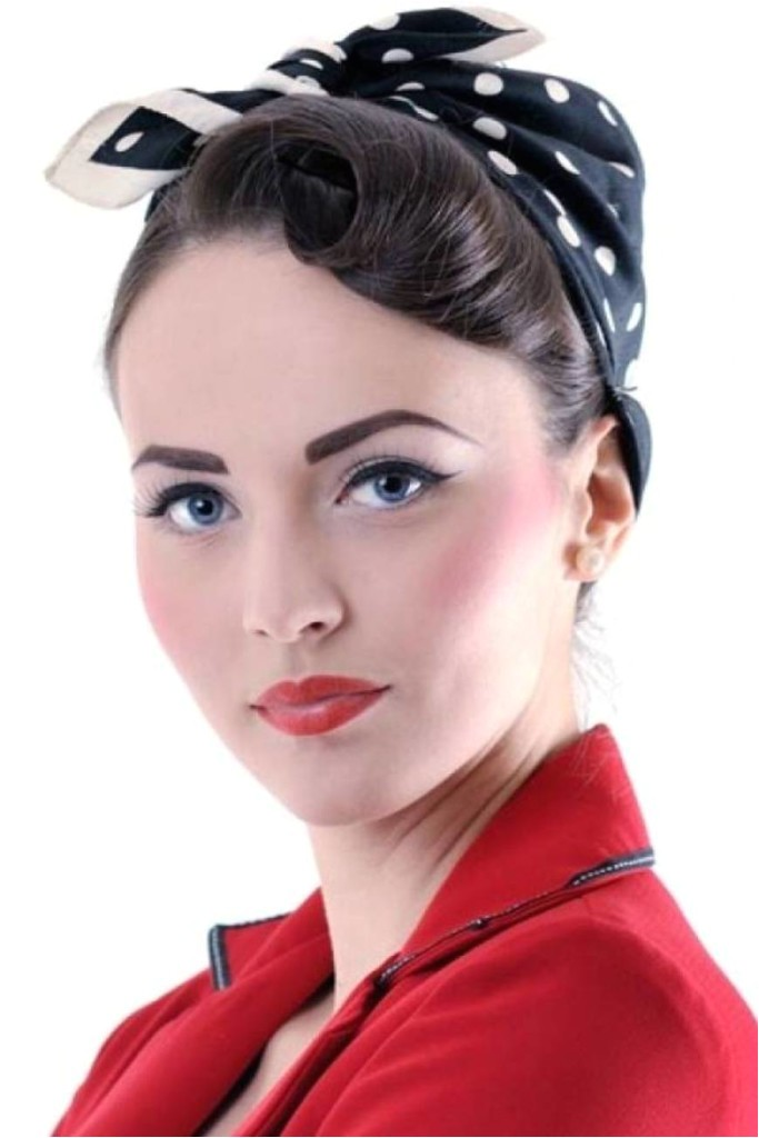 pin up hairstyles with bangs