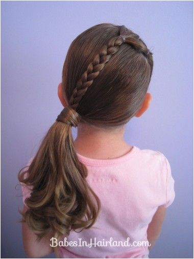 Easy Ponytail Hairstyles for Kids 14 Lovely Braided Hairstyles for Kids Pretty Designs