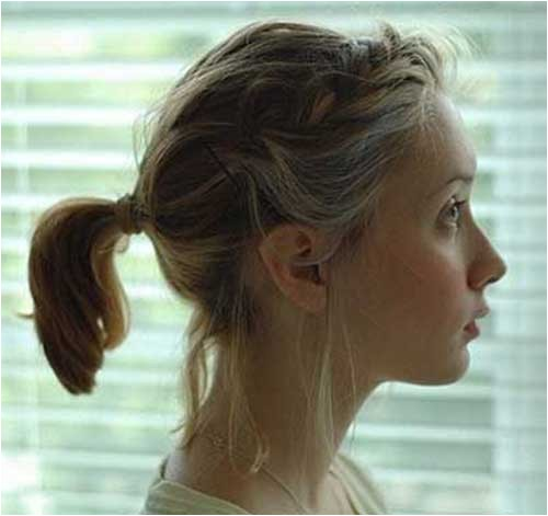 Easy Ponytail Hairstyles for Short Hair Ponytail Styles for Short Hair