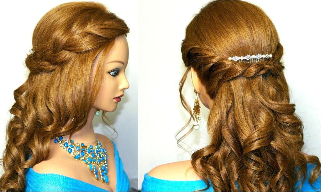 easy prom hairstyles long hair