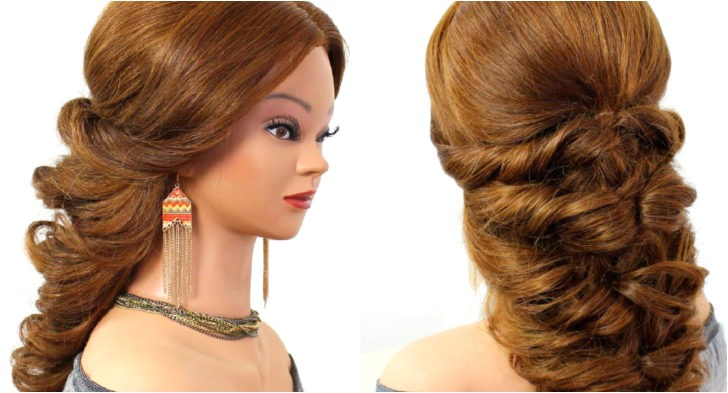 wedding prom hairstyles for long hair