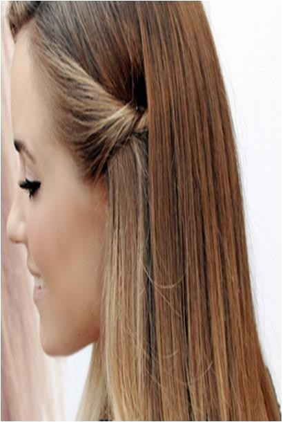 Easy Pulled Back Hairstyles for Long Hair Cute Easy Pulled Back Hairstyles