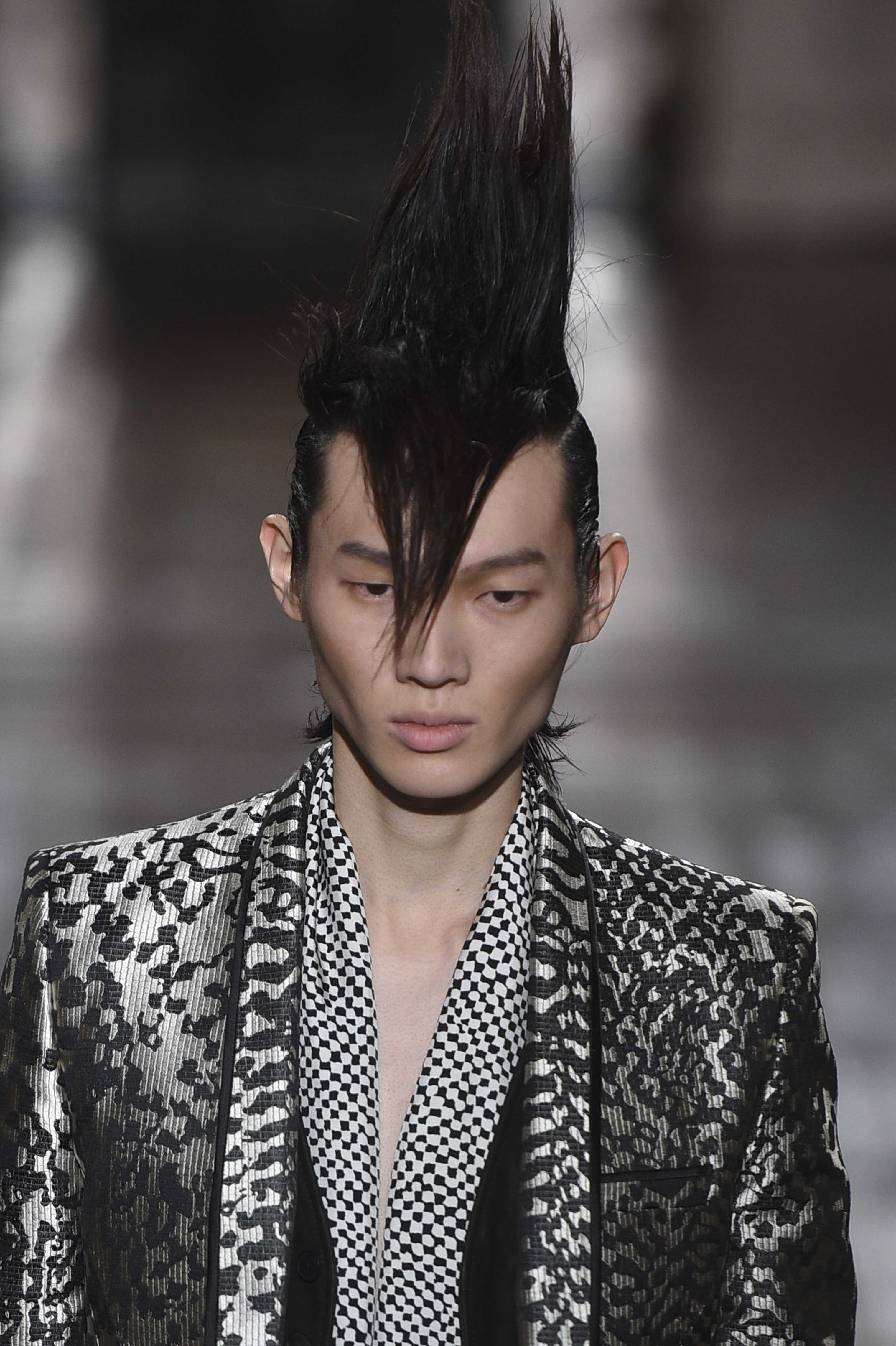 halloween punk hairstyles for men