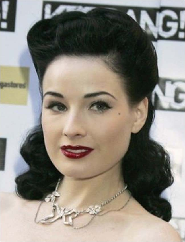 top picture of rockabilly hairstyles