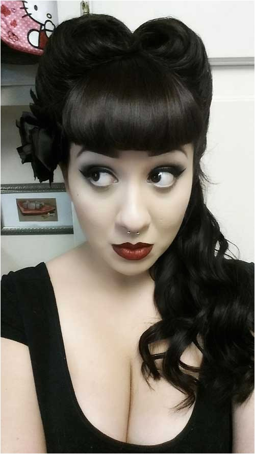 spectacular rockabilly hairstyles for women
