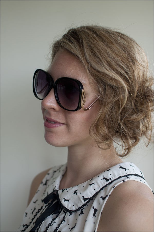 easy updo for second day hair