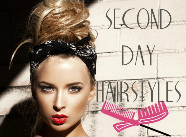 simple hairstyles for greasy hair A