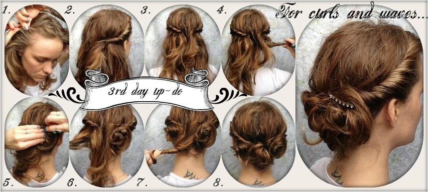 easy semi formal hairstyles