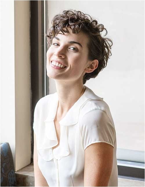 Easy Short Hairstyles for Wavy Hair 15 Easy Hairstyles for Short Curly Hair
