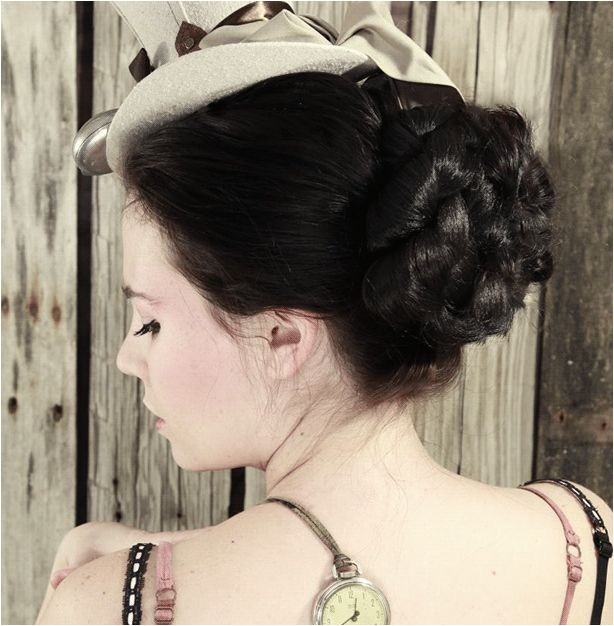 steampunk hairstyles