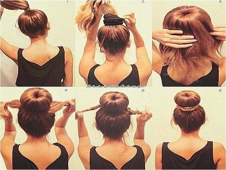 Easy Step by Step Hairstyles for Medium Length Hair 1