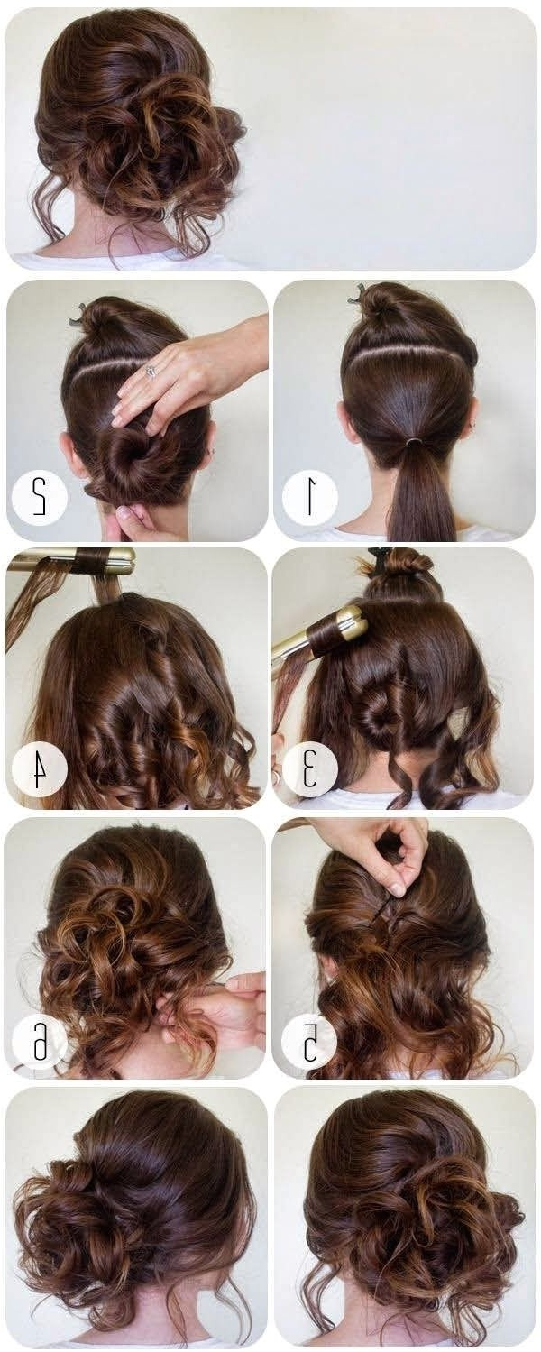 prom hairstyles for short hair step by step