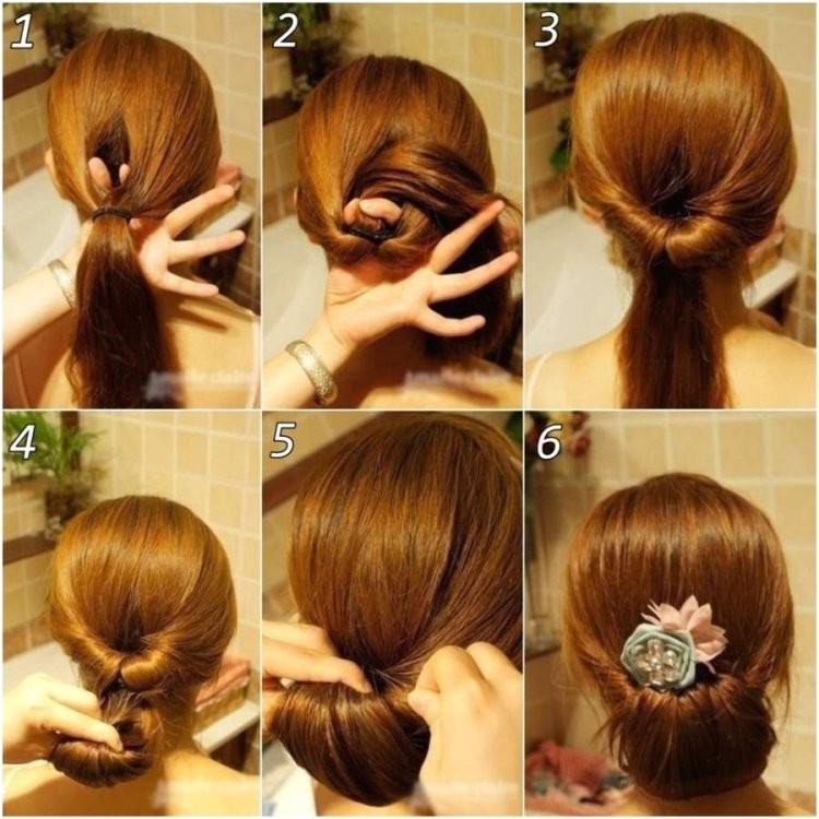coiffure simple cheveux long
