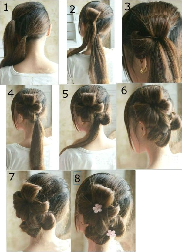 latest party hairstyles step by step 2017 for girls