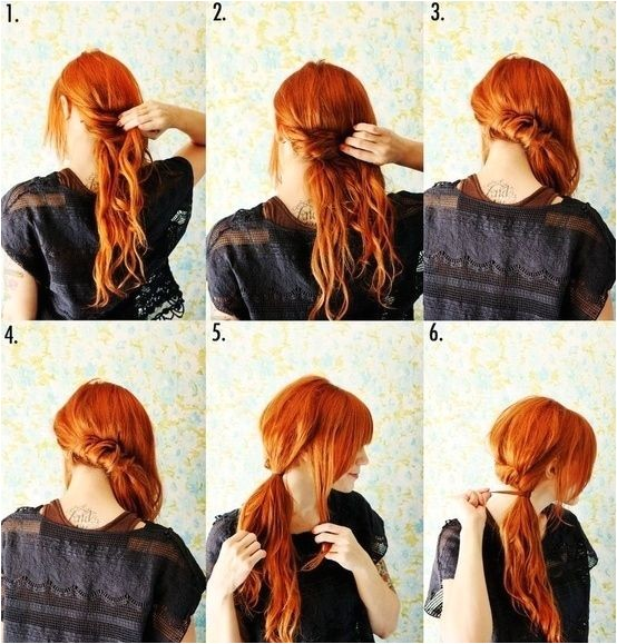 step by step hairstyles for medium length hair