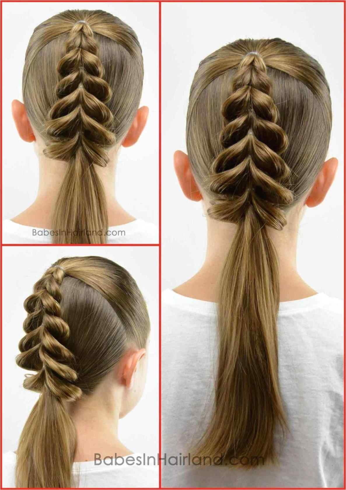easy braided hairstyles to do at home step by