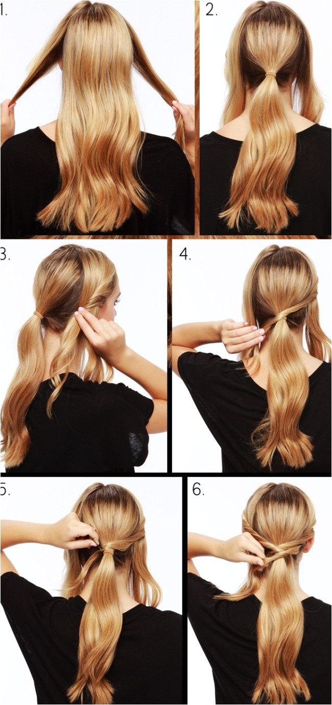 perfect party hairstyles for long hair easy to do at home step by step