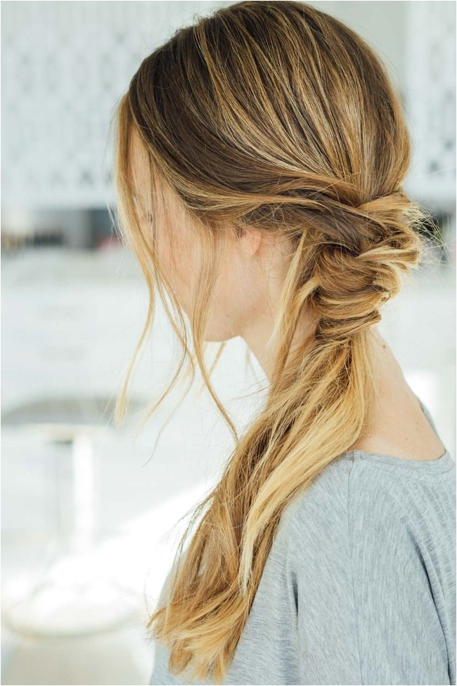 what are easy hairstyles for long hair to do at home step by step