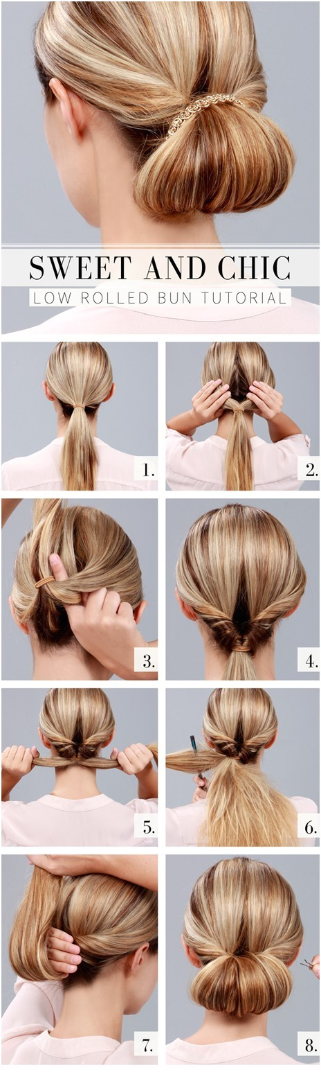 10 ways to make cute everyday hairstyles long hair tutorials ment 2515