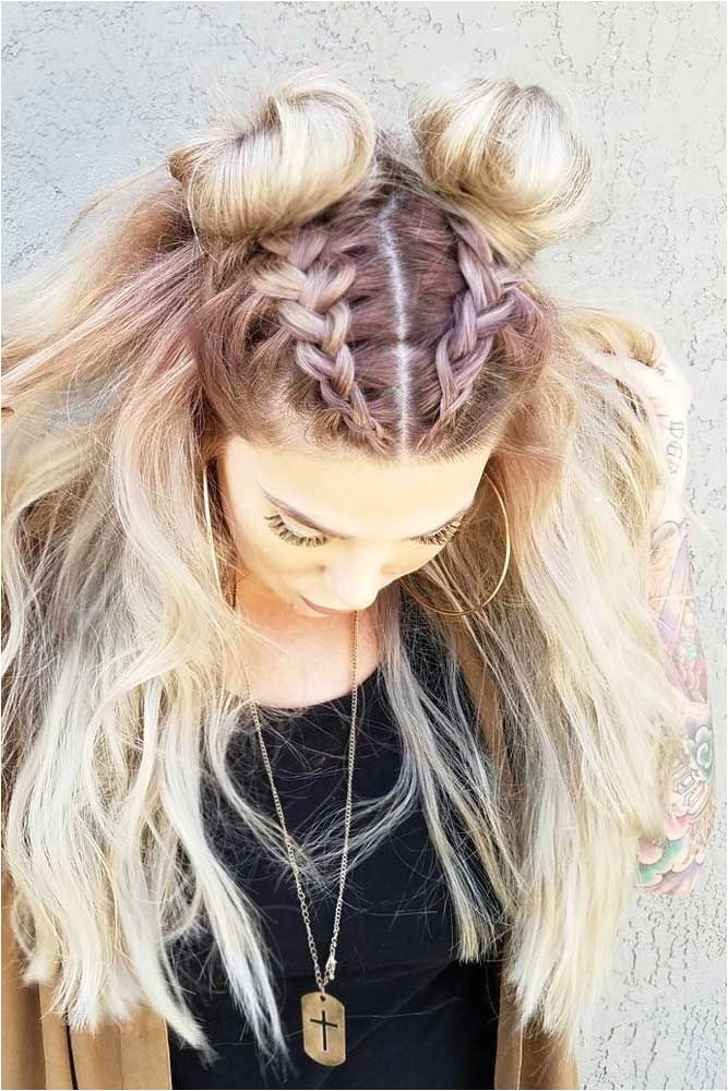 cute hairstyles for going out clubbing