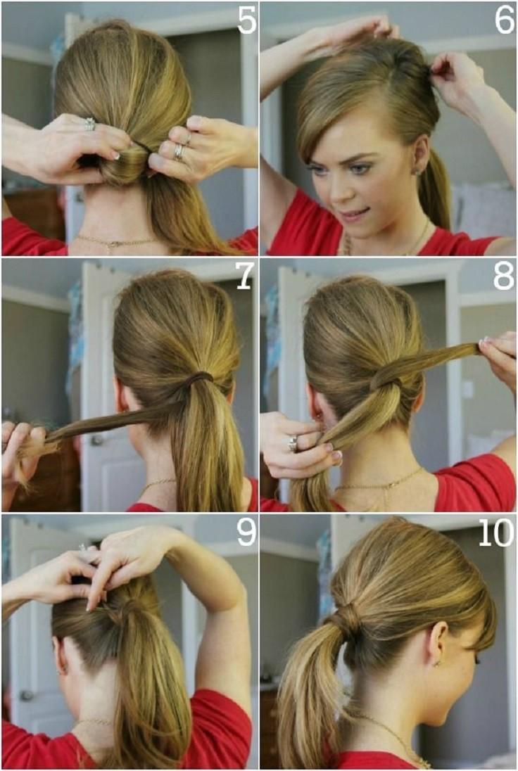 top 10 fashionable ponytail tutorials