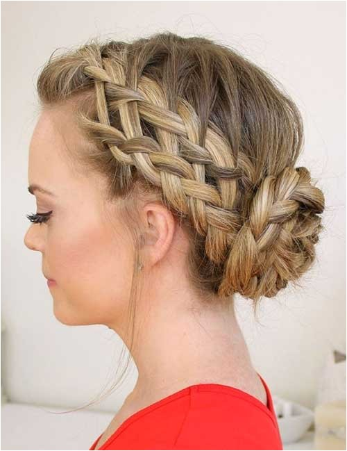 easy updo hairstyles for long hair