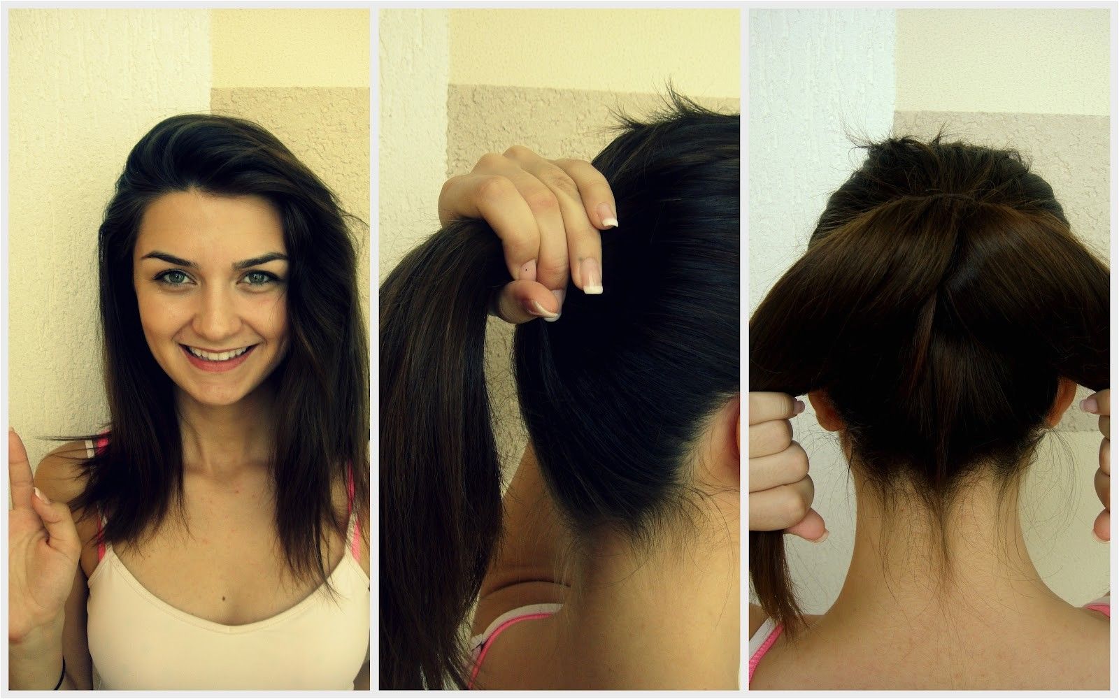 easy hairstyles for medium length hair 2