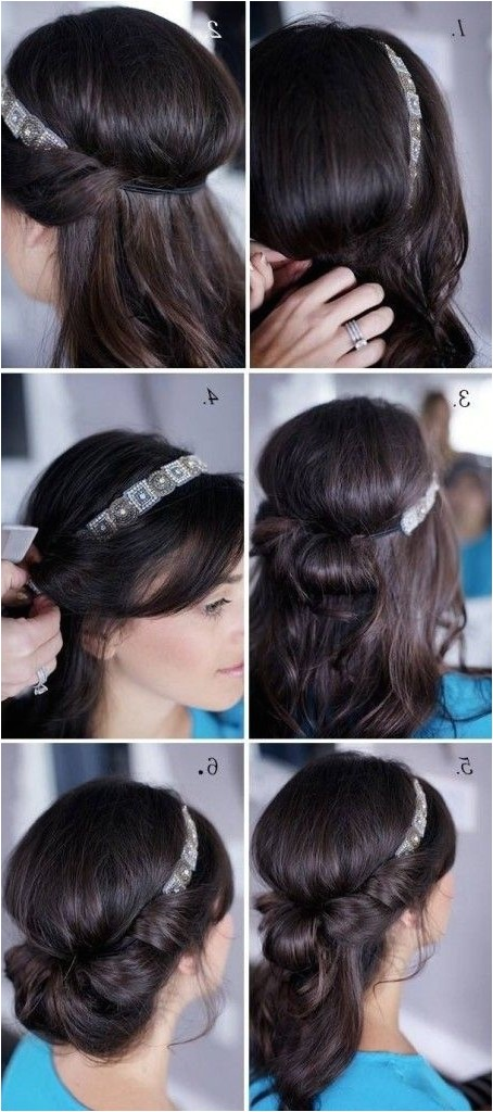 easy hairstyles for shoulder length hair to do at home