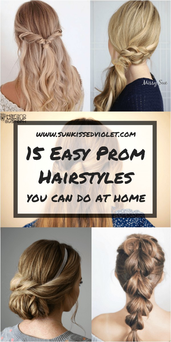 15 easy prom hairstyles for long hair you can diy at home detailed step by step tutorial