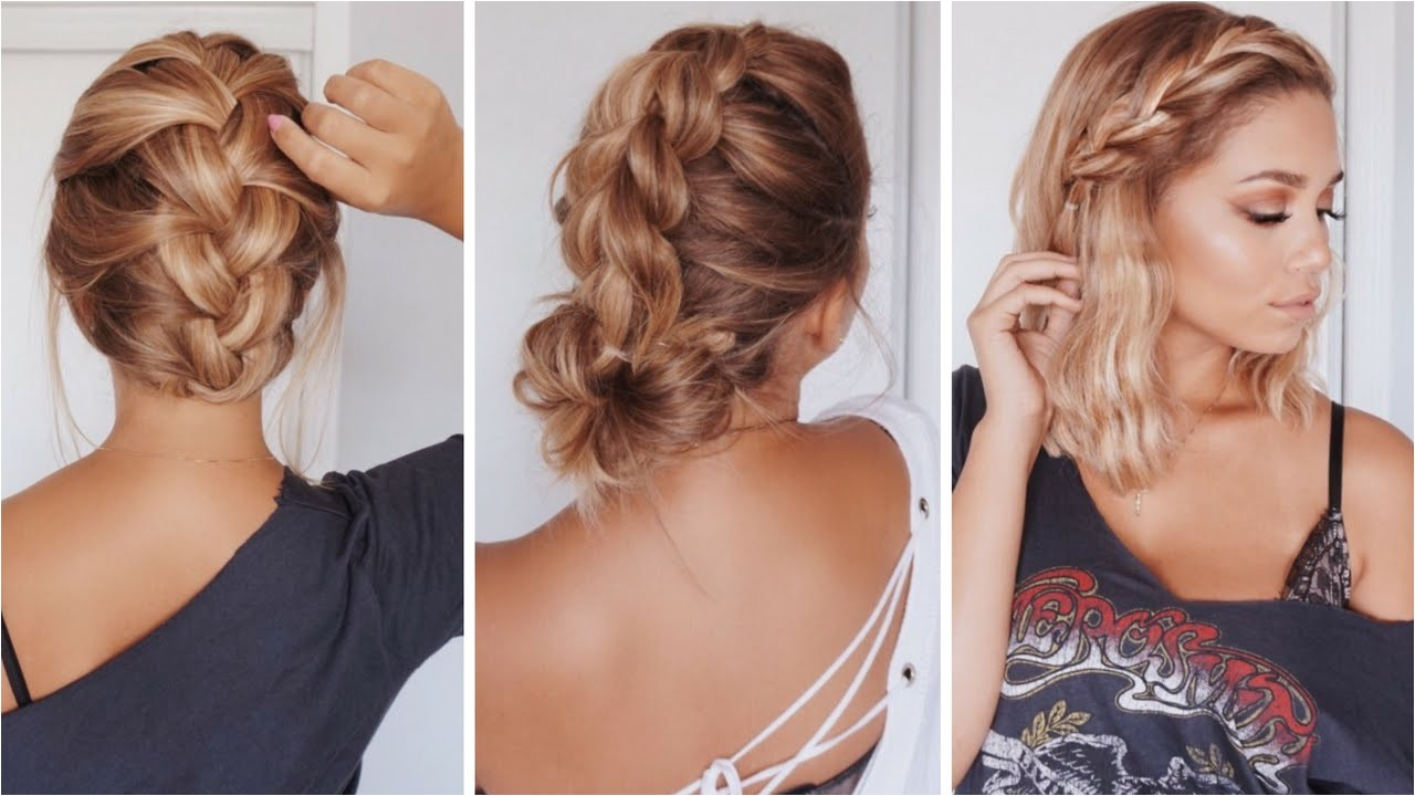 know easy hairstyles for medium length hair