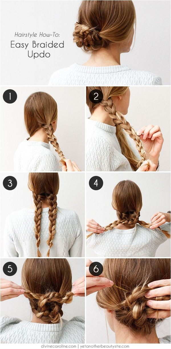 easy hairstyles for work for medium or long hair