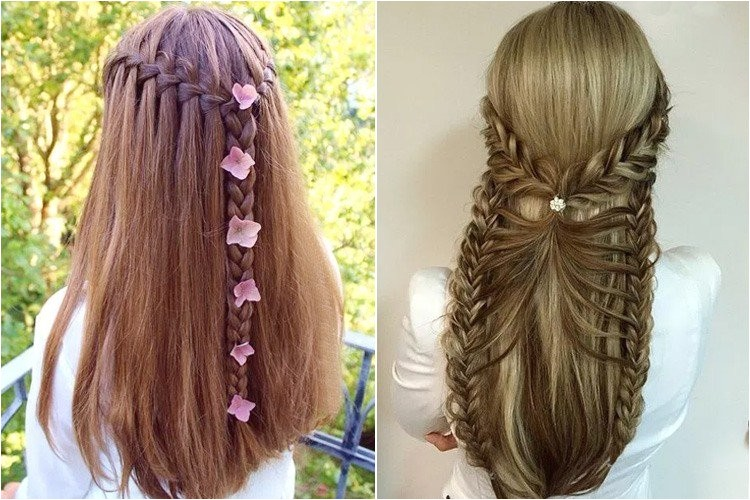 Easy to Do Half Up Half Down Hairstyles 1