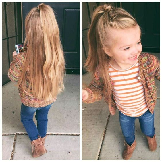 30 cute and easy easy little girl hairstyles