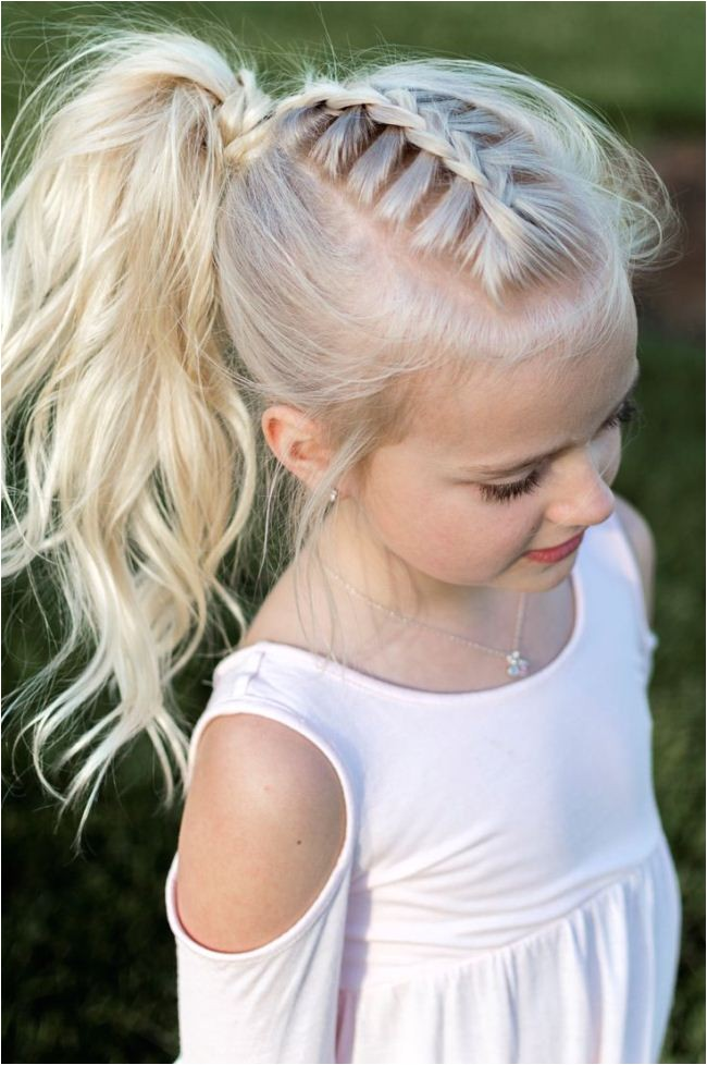 little girl updos