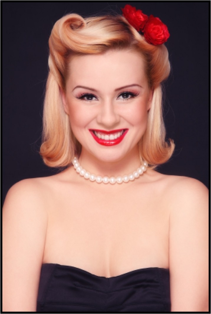 easy pin up hairstyles for medium hair you should really give a try
