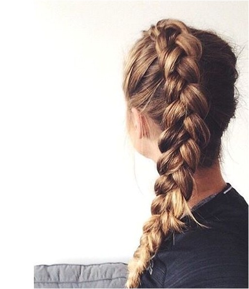 Easy to Do Plait Hairstyles 107 Easy Braid Hairstyles Ideas 2017