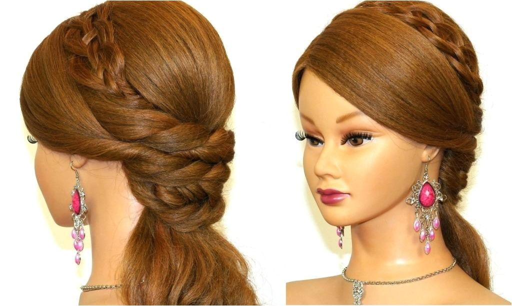 long hairstyles at home