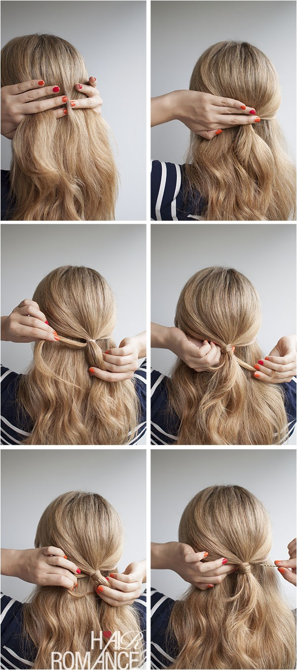 half up hairstyle inspiration