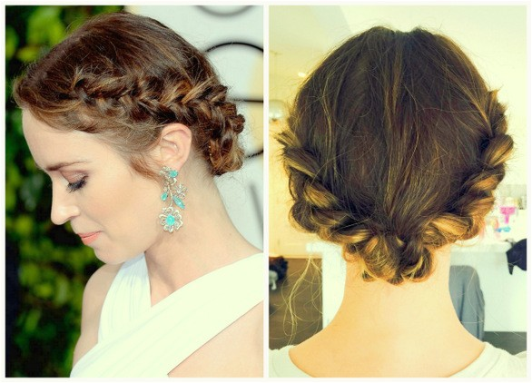 formal victorian hairstyle women
